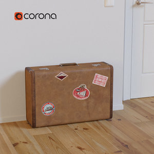 3d model of suitcase case large