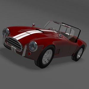 3d model ac cobra 289 sports