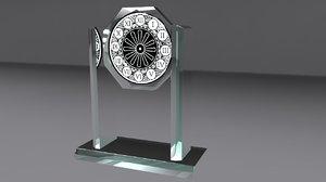 award glass 3d model