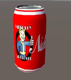 nuka cola 3d x