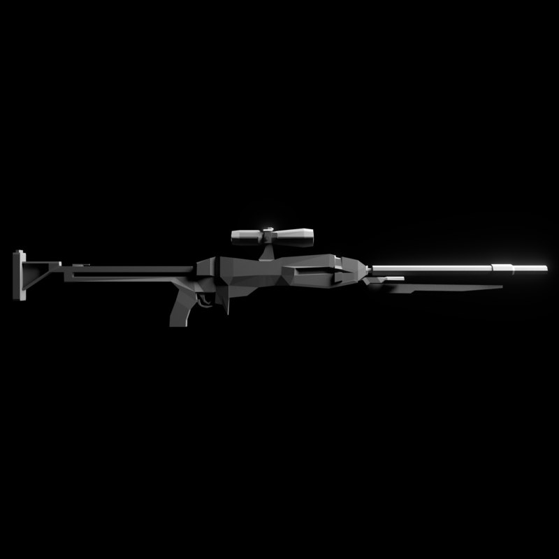 sniper rifle 3d 3ds