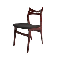 max vintage danish rosewood dining chair