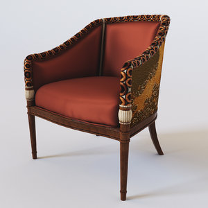 3d 1320pl chair colombostile model