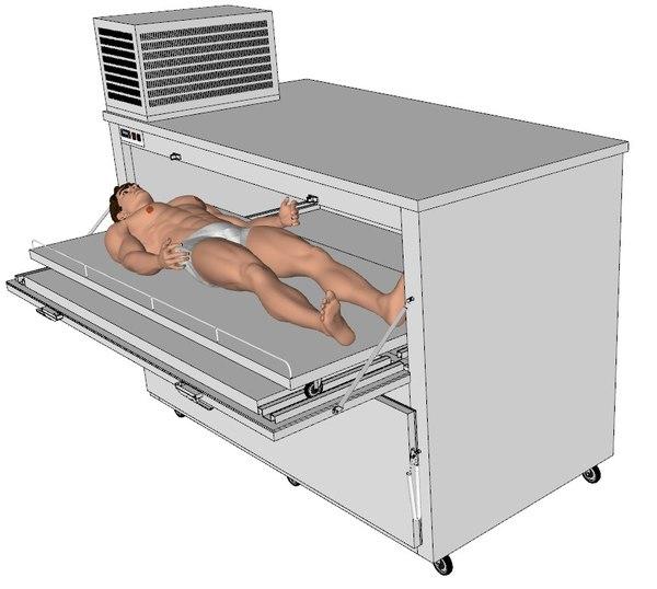 morgue fridge 3ds
