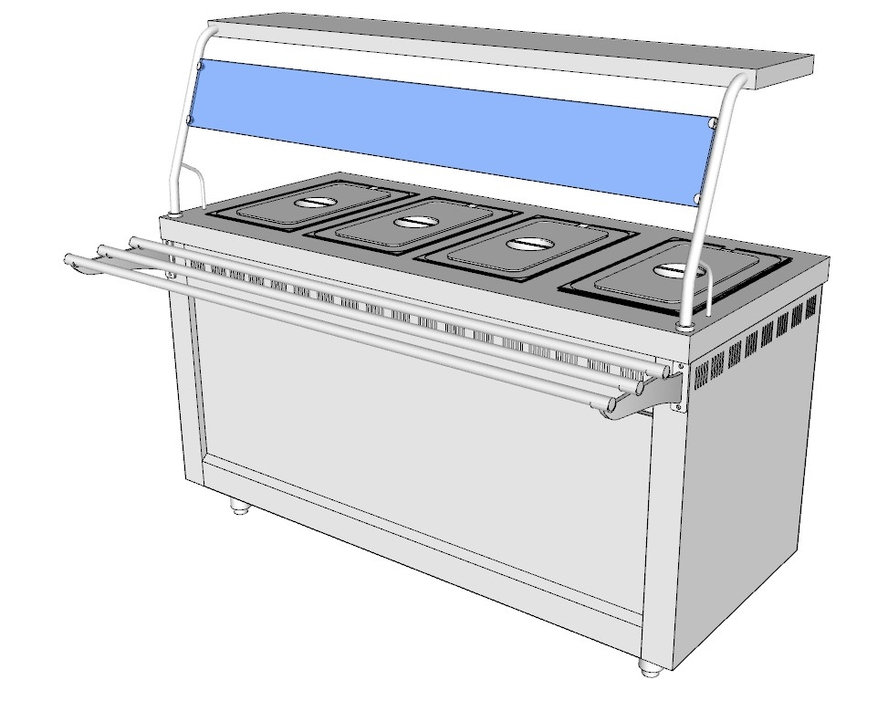 electric bain-marie 3ds