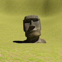 3ds moai