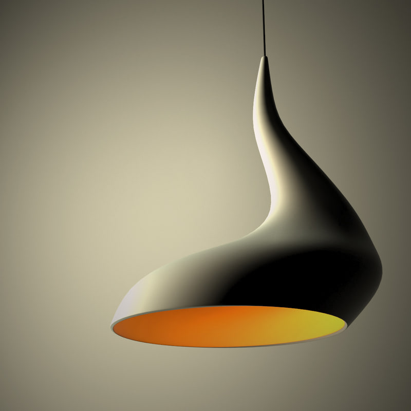 3d dollop light model