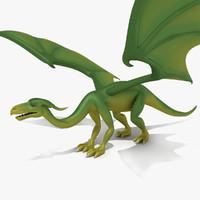 3d dragon cartoon model