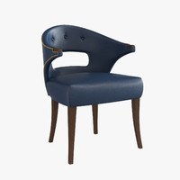 brabbu dining chair nanook 3d model