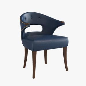 brabbu dining chair nanook 3d model