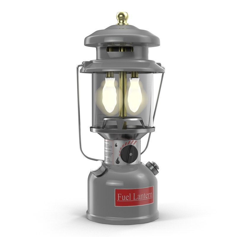 camping lantern 2 3d max