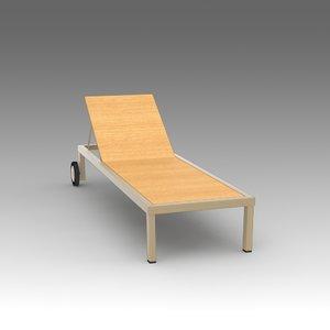 deckchair deck 3d x