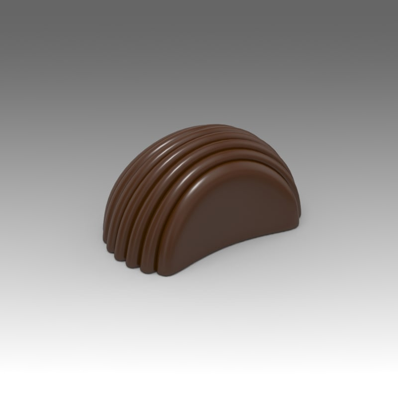 chocolates candy 3d model