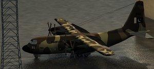 3d c130 airforce pakistan