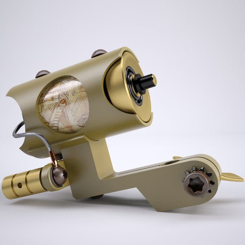 3d professional tattooing machines