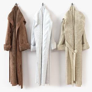 bathrobe bath 3d max