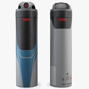 dry spray 3d model
