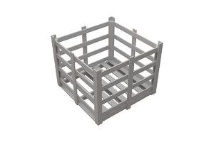 chest cage palette 3d max