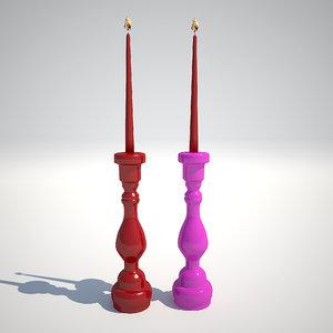 max candlesticks kare design