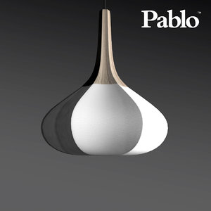 swell wide pendant light max