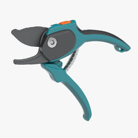 puring shears gardena 3d max