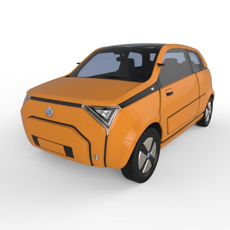 generic concept 2016 3d model