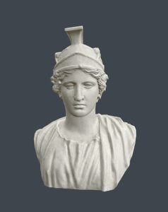 3d model athena bust