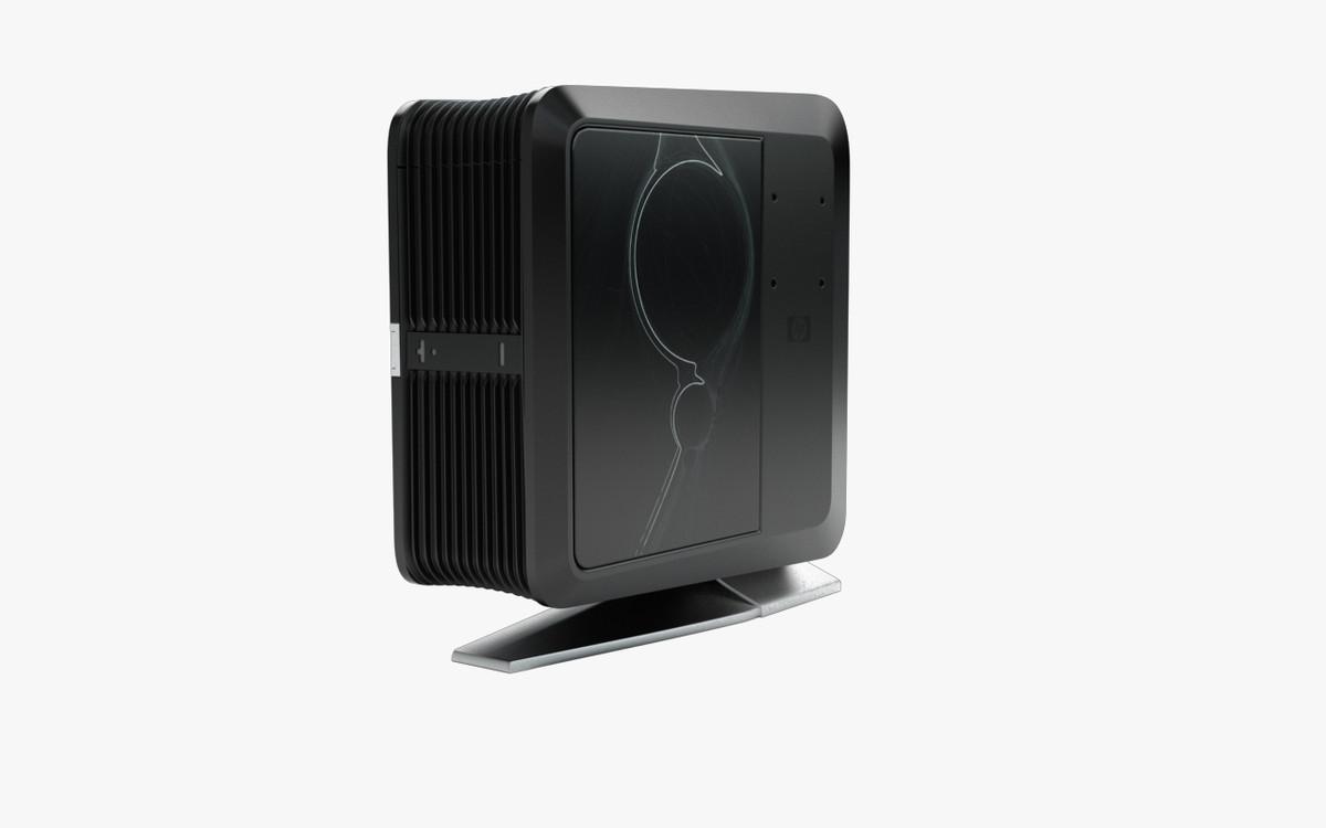 3d model computer tower hp