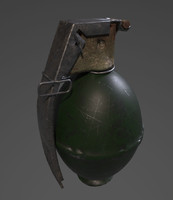 explosive 3d obj