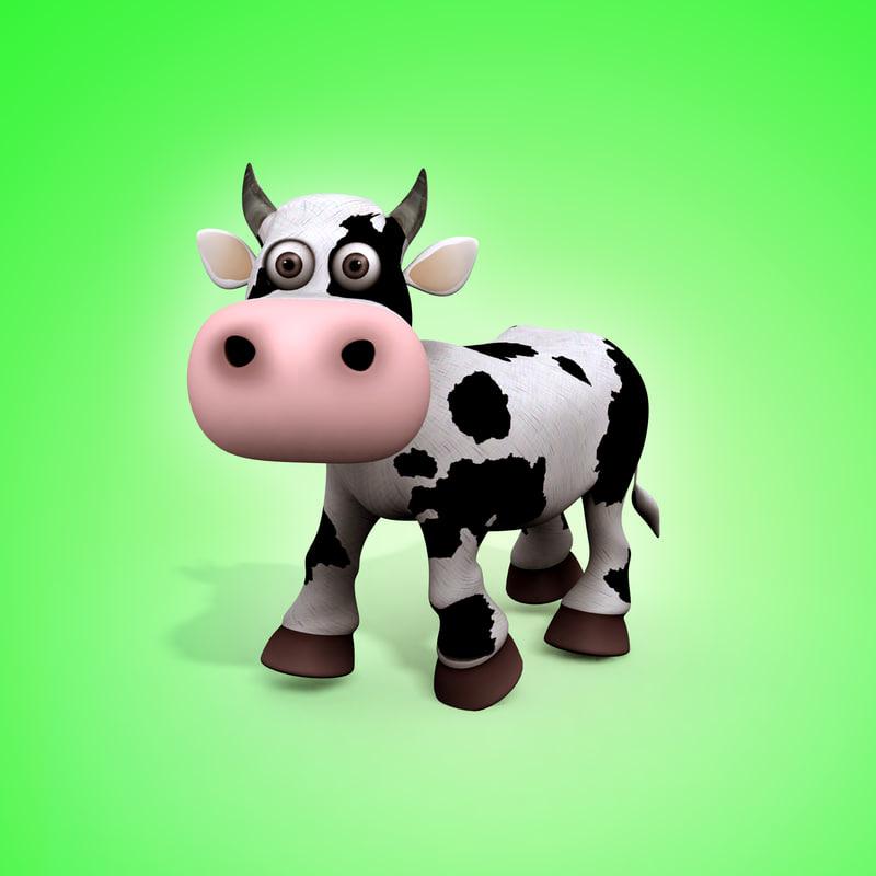 max cartoon cow