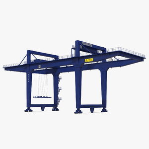 max rail mounted gantry container crane