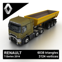 Renault T-Series Tipper 2014
