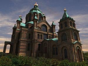 uspenskin cathedral 3ds