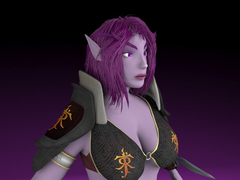 free x mode female night elf