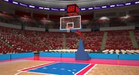 max generic basketball arena