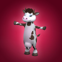 mother cow 3d max
