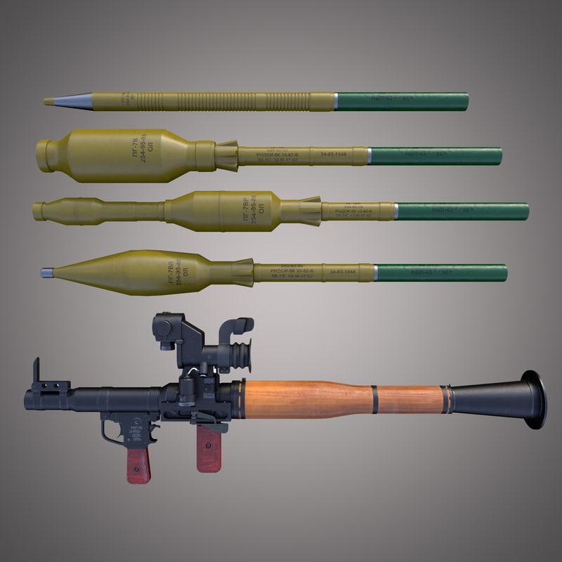 max rpg-7 rpg7 grenades