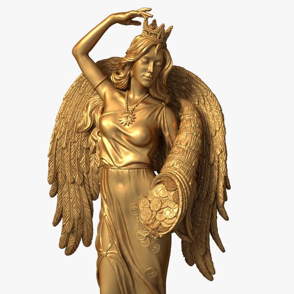 max goddess fortuna figurine