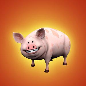 cartoon pig max