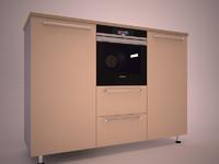 3d built-in oven