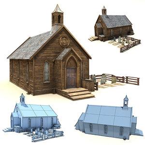 old wild west church max