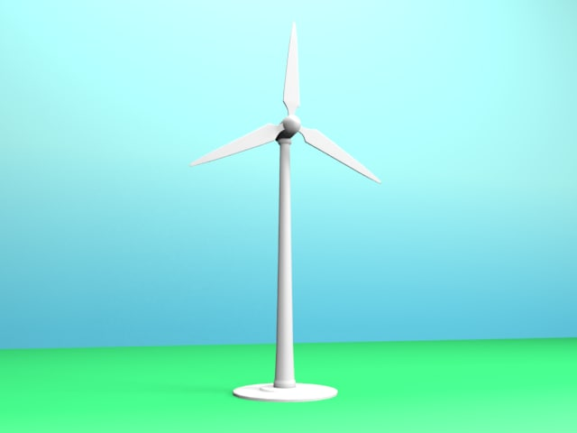 wind power obj