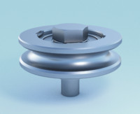 3d model of guiding wheel bearing