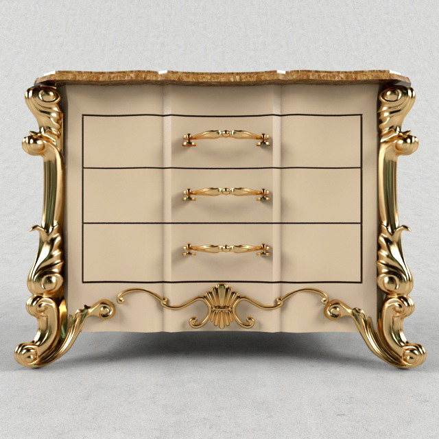 commode angelo cappellini 3d model