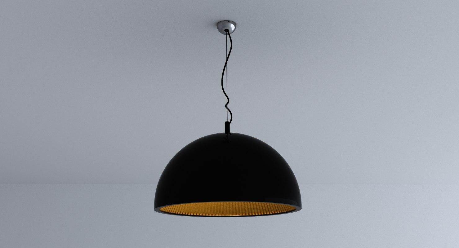 3d lamp model