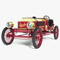 steamer vanderbilt racer - 3d 3ds