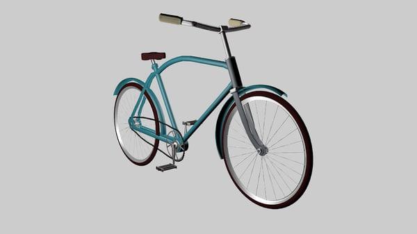 3d model bike eaglet
