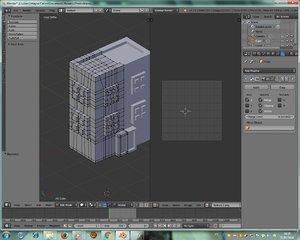 3d model of building b d