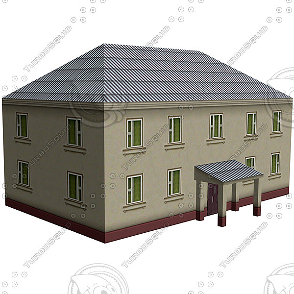 3d house street