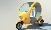 3d car electrocar